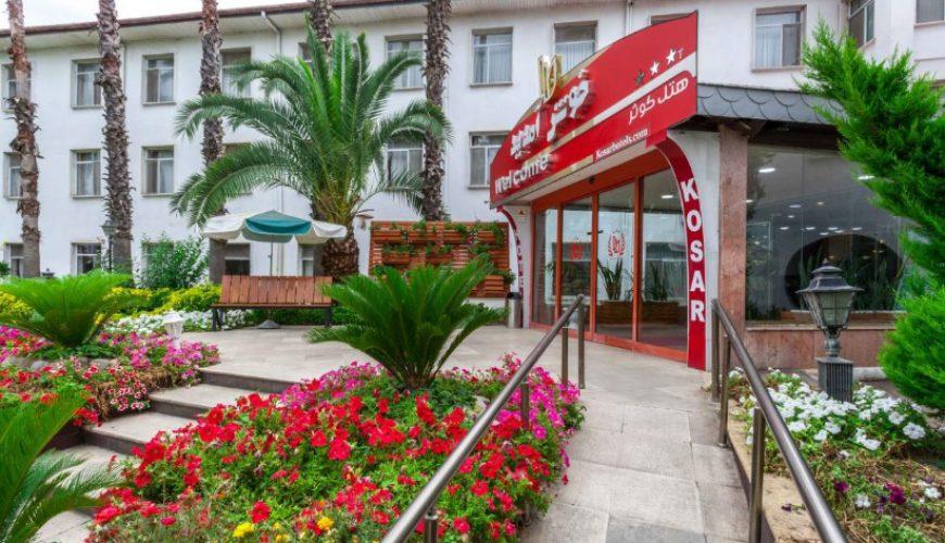 رستوران هتل کوثر رامسر