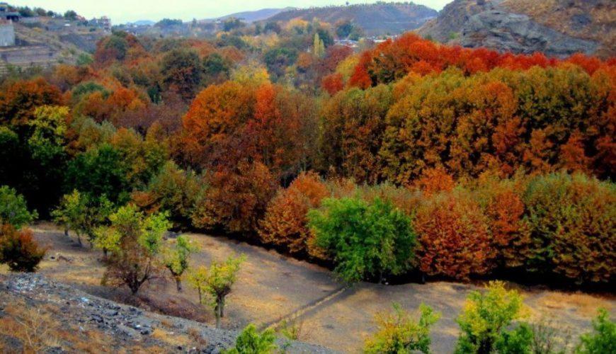 روستای عنبران مشهد